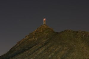 """Tower on """"A"""" Mountain by apetc"""
