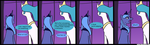 MLP Celestia's Thoughts by LoCeri