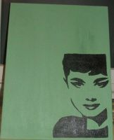 audrey canvas by Amza