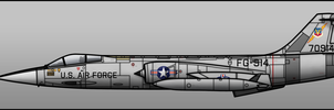 Bluejay F-104C by Jetfreak-7