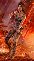 Lara Croft 2 by 3SMJILL