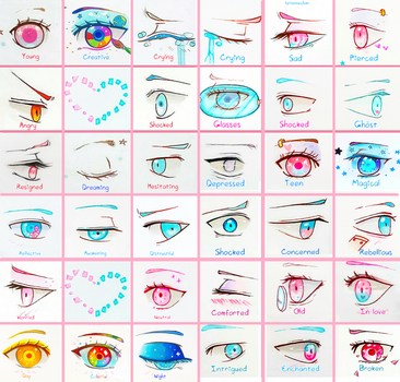 +Eye Sheet - Full 1+ by larienne