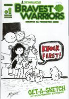 Bravest Warriors Sketch cover by johnnyism
