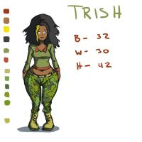 Trish Bio by shydude