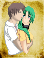 Higurashi-You're mine Mion by Goldarcanine