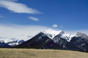 Snow Dusted Mountain Peaks (13) by SKiNBuS