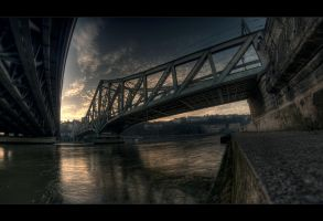 View from a hobo's stay by bubus666