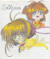 Sakura Card Captors by DebyBee