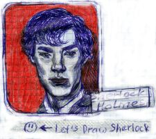 2013-04-18_let's_draw_sherlock_cop by Hollywoodie