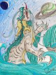 Water Dragon by Agent-LaDue