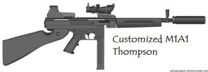 Customized M1 Thompson by pete7868