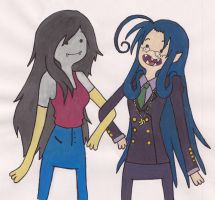 Rip Van Winkle and Marceline by Roxxi980