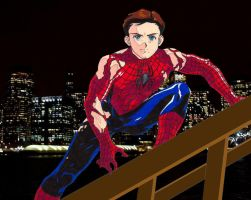 Spider-Man by affynity