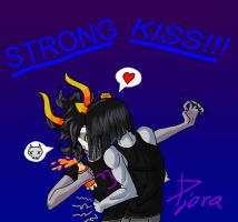 sometimes being strong by Djora