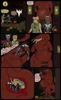Halloween Tricks and Treats--Short Vore Comic by SpidersVore