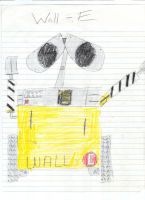 Wall-E by LuigiGuy667788