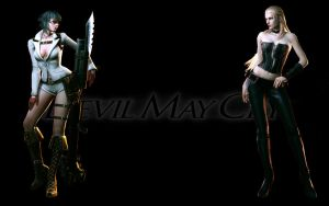 Devil May Cry 4 - Girls HD by madein1985