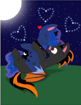 Dark Y Luna by darkhunter200