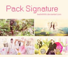 210214 . Pack Signature #18 by Leelinhhhh