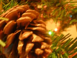 Christmas Pine Cone by Alpha-Wolff