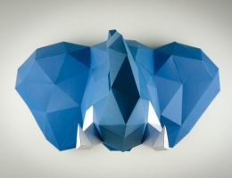 Papertrophy elephant by Papertrophy