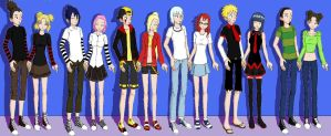 Naruto Couples by Uzumaki-Courtney