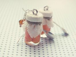 Cute earrings by M-Made