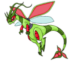Mega Flygon by Chain-Of-Ashes