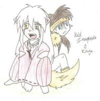 Kid Inu and Kouga... by sparx by YoukiClub