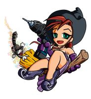 Hobby Witch by kwinz