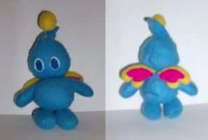Chao Plushie - Crystal by Tarem