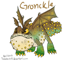 HTTYD Gronckle by tomahachi12