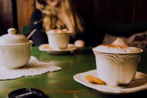In a cafe_2 by SomethingNotMatter