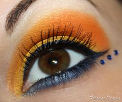 Sailor Venus inspired Make Up by Talasia85