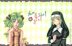 Nun and Idol girl (cover) by SunnyVaiprion