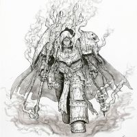 SDS 98 - Primarch Mortarion by imaan8298