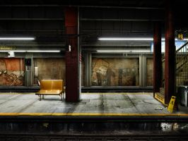 Do not step on the yellow line by Cashong