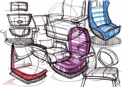 18.03.15 - Office Chair Shapes by Razza10