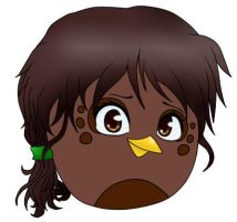 Nora As An Angry Bird by Agi6