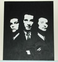 Goodfellas - Acrylics by chaplin007