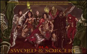 SWORD AND SORCERY JLA by TheComicFan