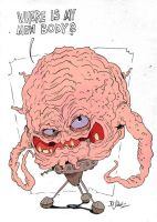 Krang - Train Sketch by Themrock
