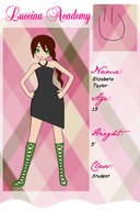Luccina Academy Application: Elizabeta Taylor by ShugoGurl