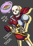 Undertale - Papyrus by RynSama