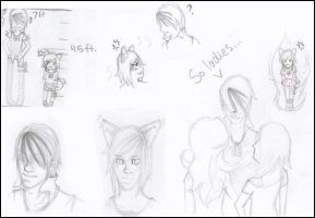 Game Master OCT Sketches by Teal-and-Coral