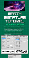 Marth Signature Tutorial - Photoshop by MajorasKeyblade