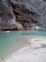 Surprise Stock: Virgin River at Zion National Park by SenshiStock