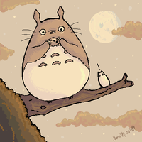 My Neighbor Totoro by irot