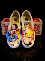 Cartoon Network Vans by VeryBadThing