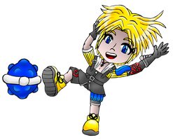 Tidus colored by MikariStar